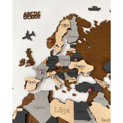 Багатошарові дерев'яні мапи світу (21)