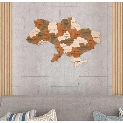Дерев'яні мапи України