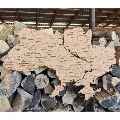 Коркова мапа України (розміри на вибір)