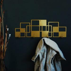 Вішалка настінна Glozis Bau Bronze / Black