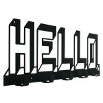 Вішак настінний Glozis Hello