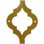Настінний гачок Glozis Morocco Bronze (Марокко бронза)