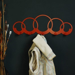 Вішак настінний Glozis Rings