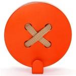 Вішак настінний Glozis Button (Orange, Blue, Yellow, Red, Green)