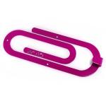 Вішак настінний Glozis Clip Purple