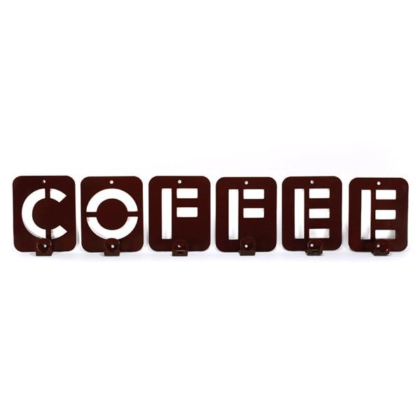 Вішак настінний Glozis Coffee