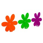 Вішак настінний Glozis Flower Green