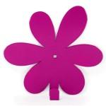 Вішак настінний Glozis Flower Purple