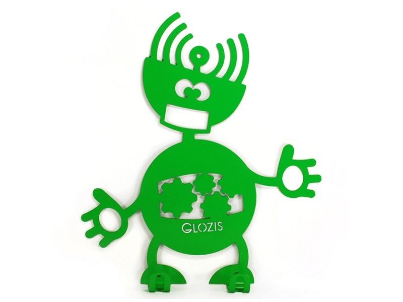 Вішак настінний дитячий Glozis Robot Mechanic
