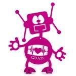 Вішак настінний дитячий Glozis Robot