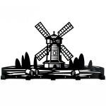 Вішак настінний Glozis Windmill