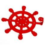 Вішак настінний Glozis Wheel