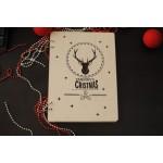 Книга в дизайнерській дерев`яній обкладинці з гравіюванням на замовлення