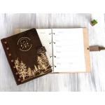 Щоденник в дерев'яній обкладинці