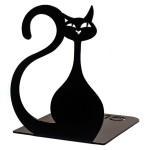 Упори для книг Glozis Black Cat