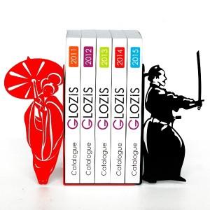 Упори для книг Glozis Japan