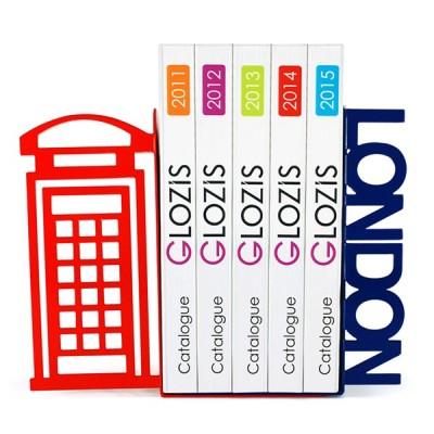 Упори для книг Glozis London