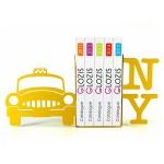 Упори для книг Glozis New York