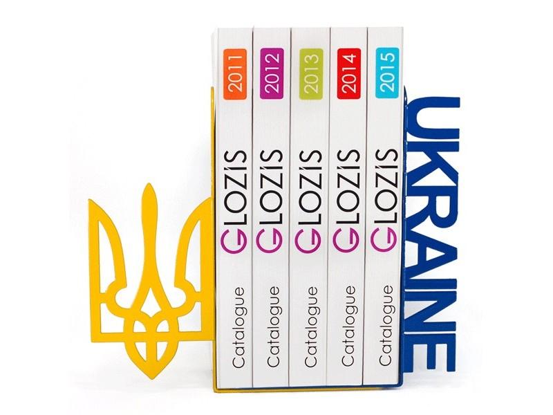 Упори для книг Glozis Ukraine